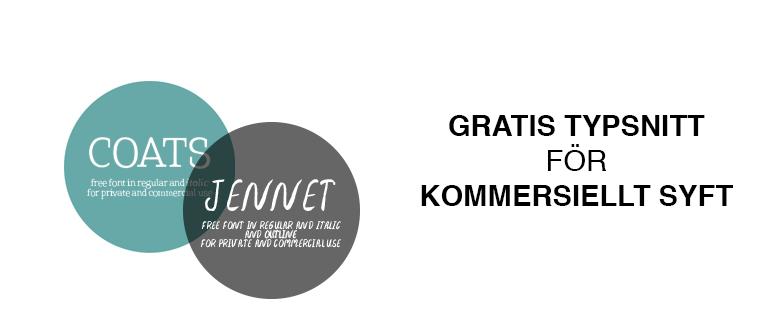 Tips Gratis Typsnitt För Kommersiellt Bruk Anders Boer Design